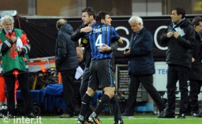 Abbraccio Zanetti Stramaccioni