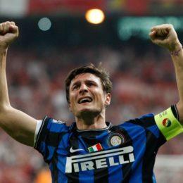 Tutto pronto per l'addio di Zanetti