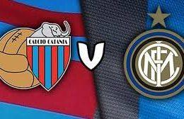 Catania-Inter, le formazioni ufficiali