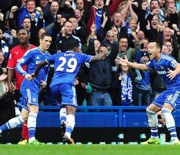 Primo gol di Eto'o in Premier, espulso Mourinho, vola l'Arsenal