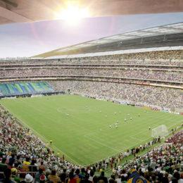 Il nuovo stadio, tra Schalke e Arsenal