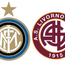 Formazioni ufficiali Inter-Livorno