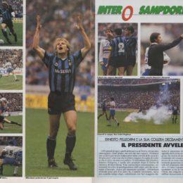 Inter-Sampdoria 1991, lo scudetto mancato
