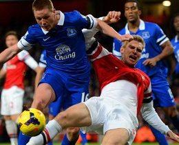 Arsenal-Everton, che spettacolo
