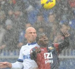 Le pagelle di Genoa-Inter 1-0, Cambiasso, Jonathan e Milito, che pena
