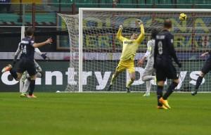 inter-chievo 1-1 gol chievo