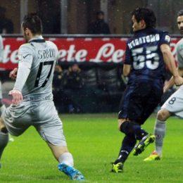 Inter-Chievo 1-1, poche occasioni, tanta pioggia