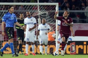 Soccer: Serie A; Livorno-Inter
