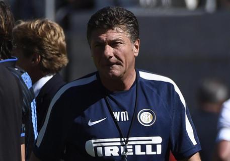 Mazzarri ai tempi dell'Inter
