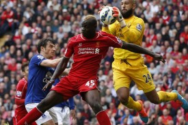 balotelli con l'everton