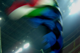 bandiera sfuocata