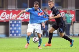 Le statistiche di Inter-Napoli 2-2