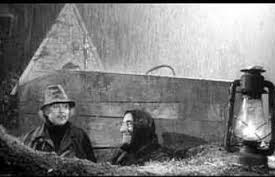 Mazzarri e Frustalupi sotto la pioggia