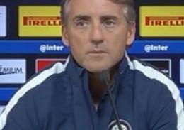 """Mancini: """"E' una questione di confidenza e approccio alla partita, ci prenderemo dei rischi da squadra vera, da Inter"""""""