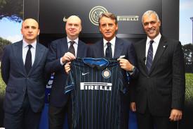 FC Internazionale Unveils New Coach Roberto Mancini