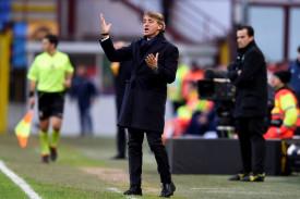 """Mancini: """"Bene fino agli ultimi 15 metri, male gli attaccanti"""""""