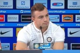 """Shaqiri: """"Voglio giocare, le parole di Mancini mi hanno colpito e per questo sono qua"""""""