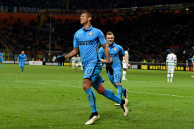 guarin esulta con il celtic