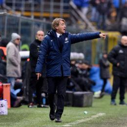 Mancini scherza in sala stampa