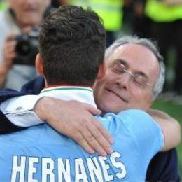 Le barzellette di Lotito piacciono anche a Liverpool