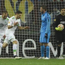 L'Inter è debole, il Wolfsburg passa il turno senza troppi problemi
