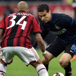 Formazioni ufficiali di Inter-Roma, è il momento di Hernanes