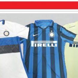 Eccole le tre nuove maglie dell'Inter