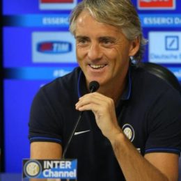 "Mancini: ""Biabiany ha 60′, Icardi tranquillo, i nuovi devono ambientarsi"""