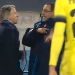 """Mancini: """"Sarri è un razzista, uno come lui non deve allenare"""""""