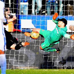 Handanovic salva, l'Inter ci prova solo nel finale, ma è pari a Bergamo