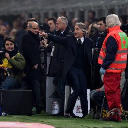 """Mancini: """"Solo in Italia buttano fuori gli allenatori, su Santon…"""""""