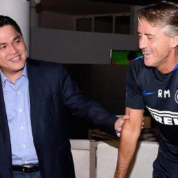 """Thohir: """"Nessun problema con Mancini e Moratti, sono in stretto contatto con loro"""""""