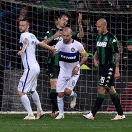 Sassuolo e Gervasoni affondano l'Inter