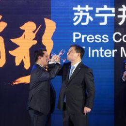 Chinese retail giant Suning buys majority of the Inter Milan soccer team shares