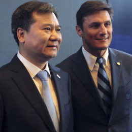 Javier Zanetti,Zhang Jindong