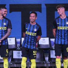 La rosa dell'Inter al 24 luglio 2016