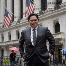 thohir borsa new york