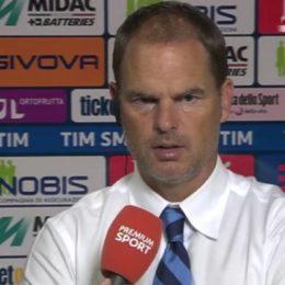 "De Boer: ""Tifosi, pazienza"""