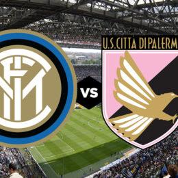 Le formazioni ufficiali di Inter-Palermo