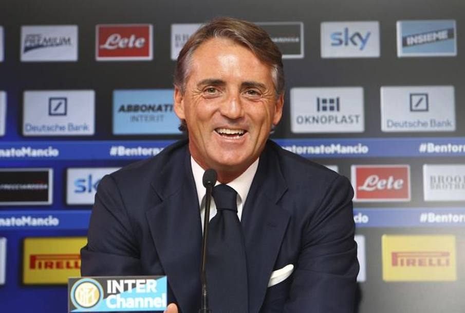 mancini ai tempi dell'Inter