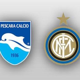 Pescara-Inter, le formazioni ufficiali