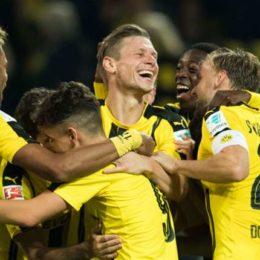 Bundesliga, il Dortmund vince ancora, ma questa volta non è goleada