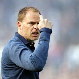 """De Boer: """"Questa sera non abbiamo perso la testa"""""""
