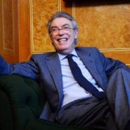 """Moratti: """"I cinesi mi hanno chiesto di tornare presidente"""""""