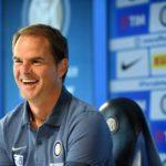 """De Boer: """"Handa ci ha salvato, ma abbiamo giocato con cuore"""""""