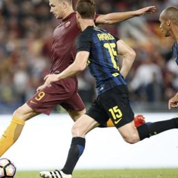 Soccer: serie A, As Roma - FC Inter