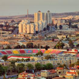 L'Inter a Beersheva, la città dei pozzi