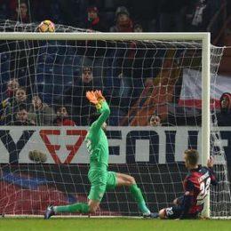 Soccer: Serie A; Genoa- Fiorentina