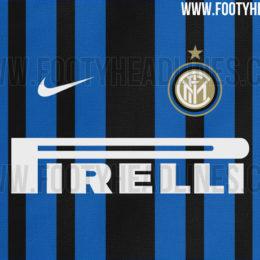 Maglia Inter 2017/18, righe irregolari
