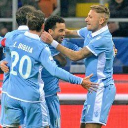 Inter col cuore, ma la rimonta si ferma a metà, Lazio in semifinale